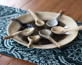 Stoneware Blue Shades Spoons