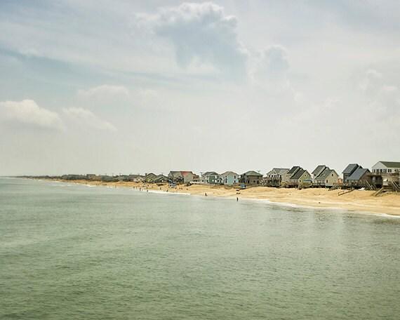 Beach Photography, Ocean Print, Nautical Wall Decor, Seascape Art, Coast Photo, Beach Cottage Decor, Summer Travel - Coastline