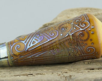 Alive Glass -  Ivory / Aurae -  Pendulum