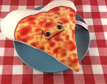 I <3 pizza, plush slice of pizza