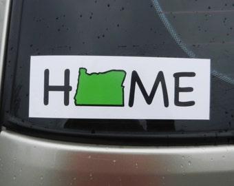 Oregon Home Bumper Sticker