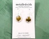 Box Elder Leaf Earrings