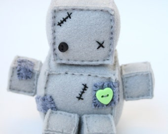 Frankenteeny the Itty Bitty Plush Robot