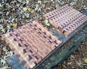 Chefs Maple and Purpleheart Board - Ready to Ship Now