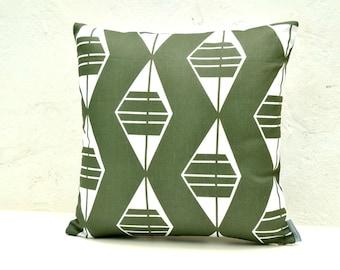 Scandinavian and Mediterranean style linen pillow cover