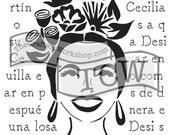 Chica Florita 6x6: TCW648...