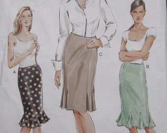 Vogue Skirt Pattern 7832