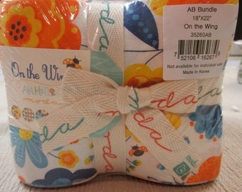 On The Wing  fat quarter bundle