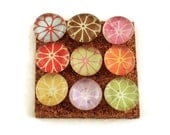 Decorative  Thumb Tacks Push Pins Cork Board Pins in Petals   (P50)