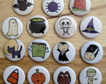 Cute Halloween Magnets
