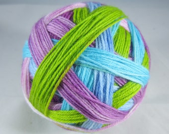 Spring Self Stripe Painted Sock Yarn