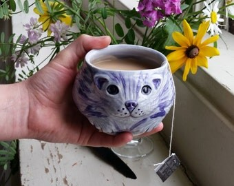 Cheshire Cat Tea Bowl