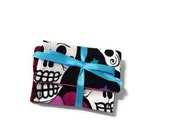 Skulls and Paisley Teeny Pocket Set of Two