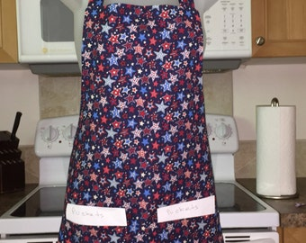 fourth of july_4th of july_july 4th_womens aprons_stars