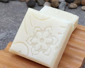 Lemon Verbena Botanical Guest Size Soap - No added scent or color - Set of 2