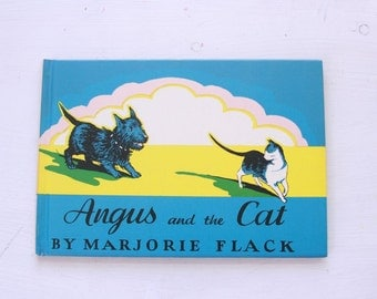 Vintage first edition Angus and the Cat by Marjorie Flack 1931