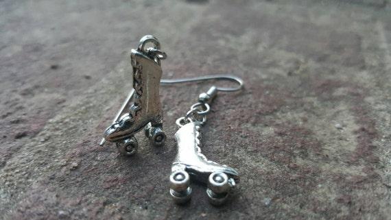 Roller Derby Roller Skate Earrings