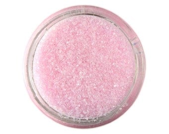 Pastel Pink Sanding Sugar - light pink sprinkles for decorating cupcakes, cakes, cakepops, and cookies