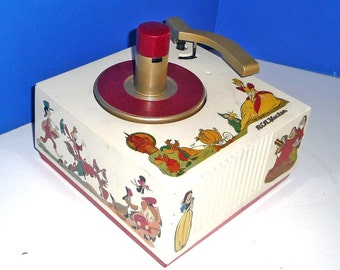 Disney 45rpm Record Player by RCA Restored W Warranty