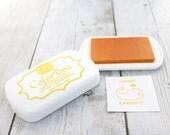 Ink Pad - BANANA/YELLOW Color Box by Stephanie Barnard, Dye Ink Pad, Yellow Ink, Stamp Pad, Crafting, Stamp Pad, Acid Free Ink, Raised Pad