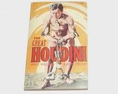 1950s Houdini book / 50s Harry Houdini / The Great Houdini Book