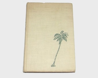 1940s travel book / 40s Tahiti book / Antique 40s Tahiti Landfall Book