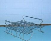 Vintage Metal Basket Vintage Metal Letter Tray Vintage Office Letter Basket