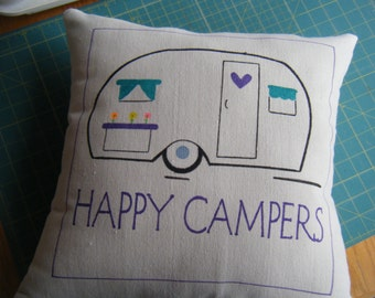 Pillow - Happy Camper