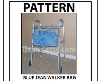 Blue Jean Walker Bag Pattern