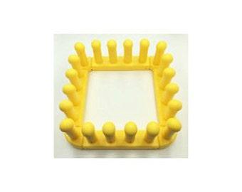 Knitting Board Zippy Loom Square Kit - 4 sides, 4 corners, 4 knit hooks