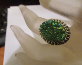 Shamrock  green ring