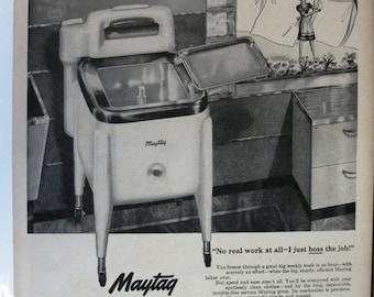 137 Maytag Washer Ad - 1942