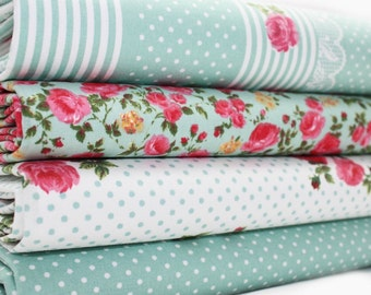 Fabric Bundle Petite Jardin fat eighths tissu