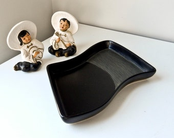 Mid Century Modern Serving Appetizer Platter Plate