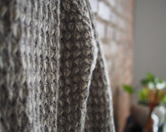 Hand-framed Wool Sweater from Great Britain
