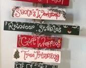 Christmas Decor - North Pole Outdoor Christmas Sign