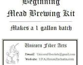 Beginning Mead Brewing Kit