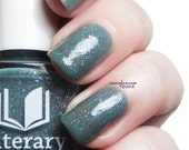Ventomarme- Full Sized Grey-Green-Blue Shimmering Nail Lacquer : The Cactus Duo