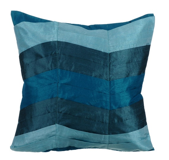 Teal Decorative Bed Pillows : Decorative Throw Pillow Covers Couch Pillow Case Sofa Pillows