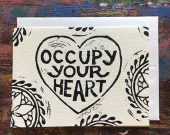 Occupy Color•Your•Own Greeting Card