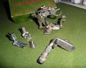 Vintage Sewing Machine Attachments - Ruffler, Hemmer, Buttonholer, etc
