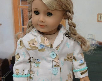 Pajamas for American Girl doll - Woodland Pals