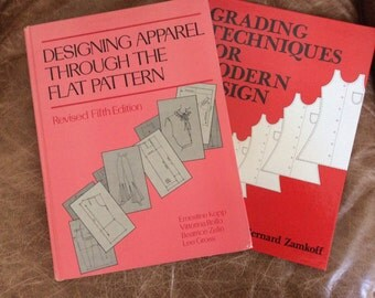 2 essential apparel design text books