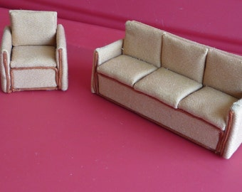Half Scale Sofa and Chair