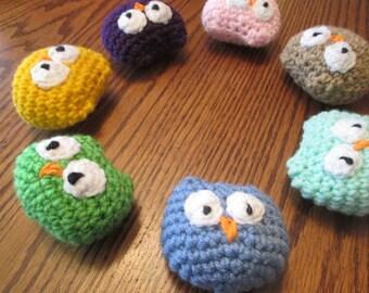 Small Crochet Owl Amigurumi