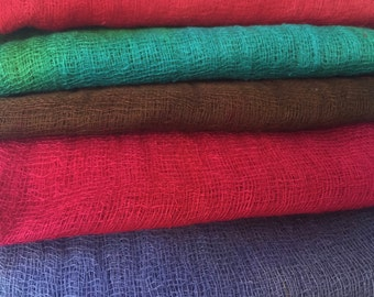 Hand Dyed Cheesecloth Sampler Pack 114