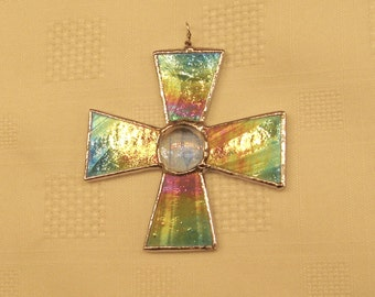 Large Rainbow Cross