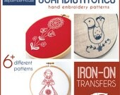 Embroidery Patterns Iron On Transfers Scandistitches patterns for hand embroidery Scandinavian embroidery kit