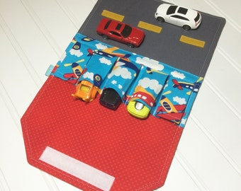Car Wallet - Holds 5 of your childs favorite cars - Airplanes