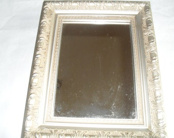 Mirror Ornate Rectangle not Wood Wooden Plastic